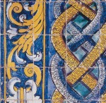 Portugese blue&yellow tile