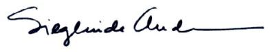 A    Sieglinde Signature