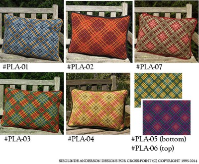 Tartan Plaids in 7 Color Options