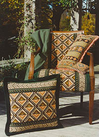 Anatolia Pillow and Upholstery