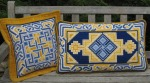 Lindisfarne - Accent Pillow and Back Pillow
