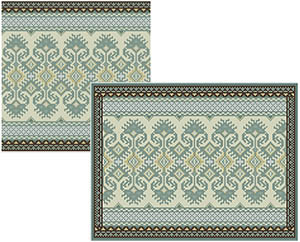 KILIM II - Small Square and Large Rectangle (05 colors)