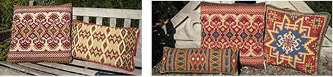 kilim patterns in the cross-point collection